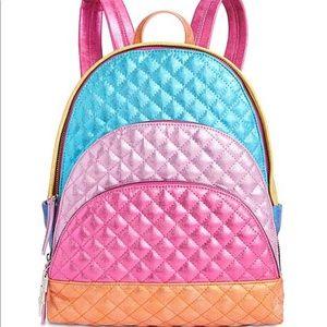 Betsey Johnson Strype Hype backpack